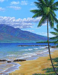 Oil Paintings Of Hawaii - Painting