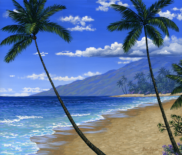 Painter Of The Pacific Northwest And Hawaii
